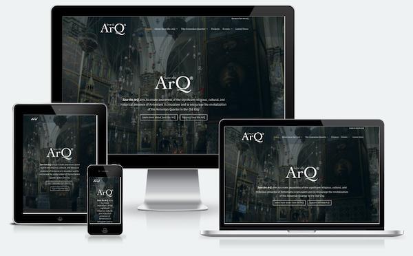 Divi Website - non-profit - save the ArQ