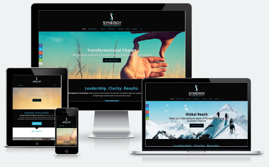 Divi Website - Consultants