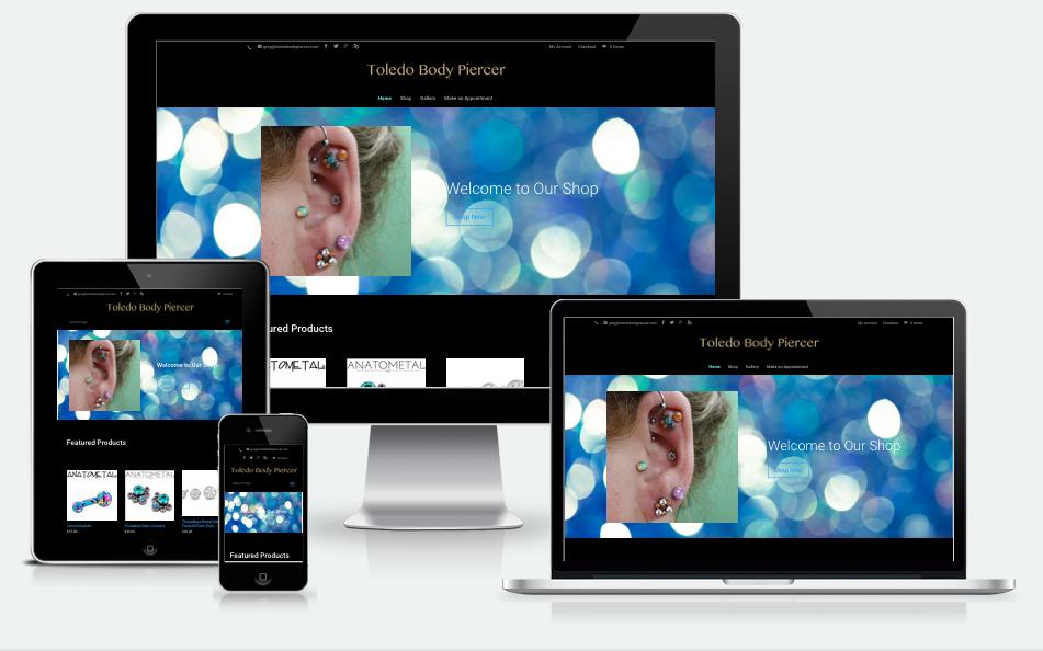 Toledo Body Piercer Website
